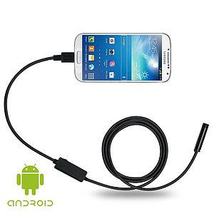 Гибкая мини камера-эндоскоп для Android, Pc