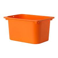 Контейнер ТРУФАСТ оранжевый ИКЕА, IKEA