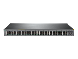 HPE JL386A Коммутатор OfficeConnect 1920S, 48G, 4SFP, PPoE+, 370 Вт