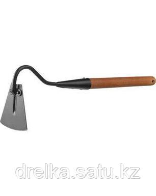 Тяпка мотыга GRINDA 421518, PROLine, узкая, с тулейкой, с деревянной ручкой , фото 2