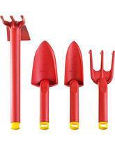 Набор GRINDA: Совок посадочный широкий, совок посадочный узкий, рыхлитель, мотыга-рыхлитель, 4 предмета, фото 2