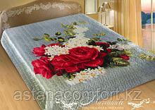 """Шелковое 2-спальное покрывало """"Ноктюрн"""" Marianna, размер 230х 250 см"""