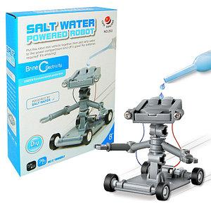 Конструктор-робот на солевом топливе