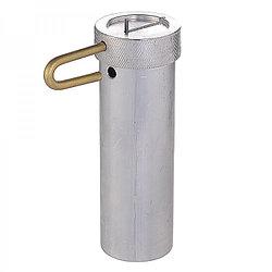 Пенал алюминиевый d=40мм h= 120мм (с штоком)