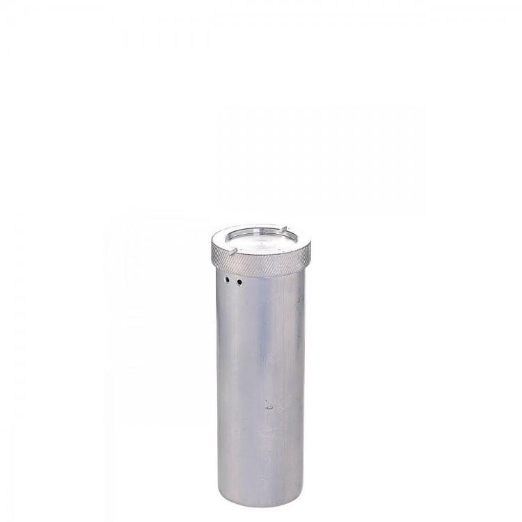 Пенал алюминиевый d=40мм h= 150мм