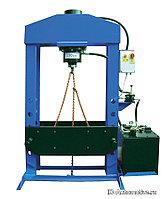 Электрогидравлический пресс, усилие 150т. WERTHER PRM150 (OMA667)