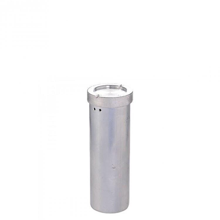 Пенал алюминиевый d=40мм h= 180мм