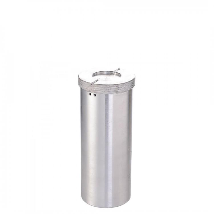 Пенал алюминиевый d=60мм h= 200мм