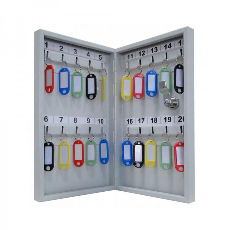Шкаф металлический для ключей Кл-20М без брелков