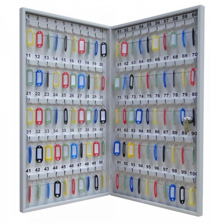 Шкаф металлический для ключей Кл-100М без брелков