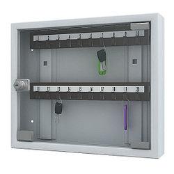 Ключница со стеклянной дверью Кл-20С с брелками