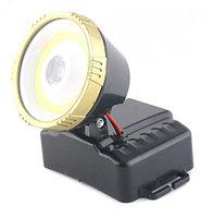 Светодиодный налобный фонарь COB+3W LM CH-6206