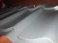 "Металлочерепица СуперМонтерей глянец ""RALL 7024"" серый 0,4мм"
