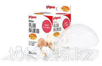 Pigeon Защитные накладки для кормления, размер M (диаметр соска 11 мм)