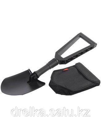 Лопата GRINDA складная, туристическая, в чехле, фиберглассовая рукоятка, 240 / 590 мм, 8-421826_z01