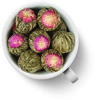 Чай цветок красный
