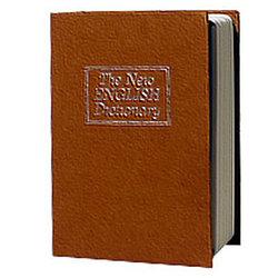 Металлическая книга-тайник с ключевым замком LD-800