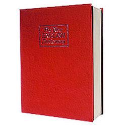 Металлическая книга-тайник с ключевым замком LD-801