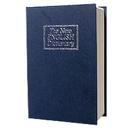 Металлическая книга-тайник с ключевым замком LD-803