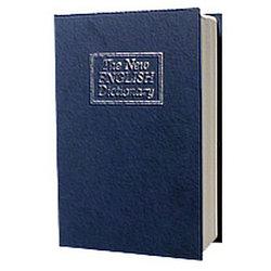 Металлическая книга-тайник с ключевым замком LD-802