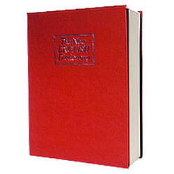 Металлическая книга-тайник с ключевым замком LD-801 В1