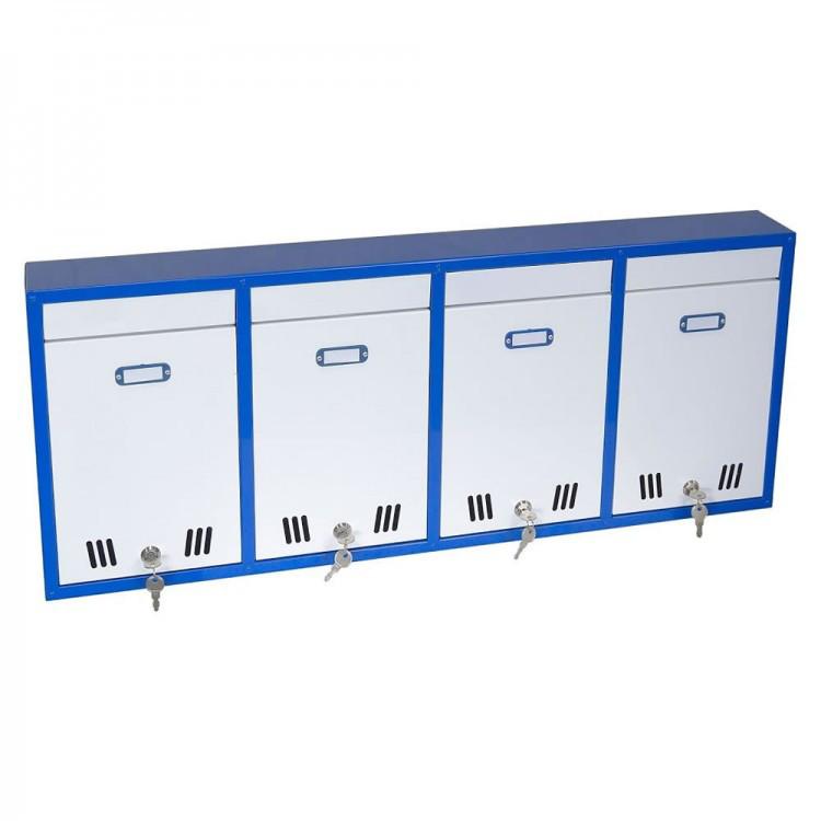 Ящик почтовый секционный ЯПС-4(4 секции)