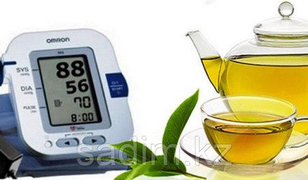 Зеленый чай от давления