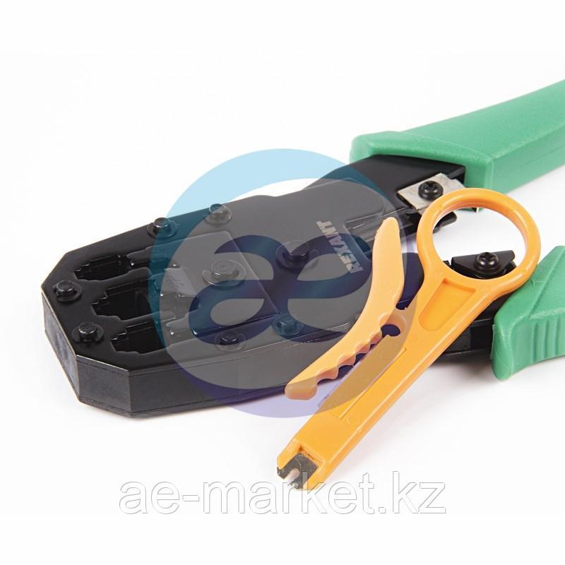 Кримпер для обжима 8P8C / 6P6C / 4P4C (HT-200) (TL-315), заделка витой пары (HT-318М) REXANT