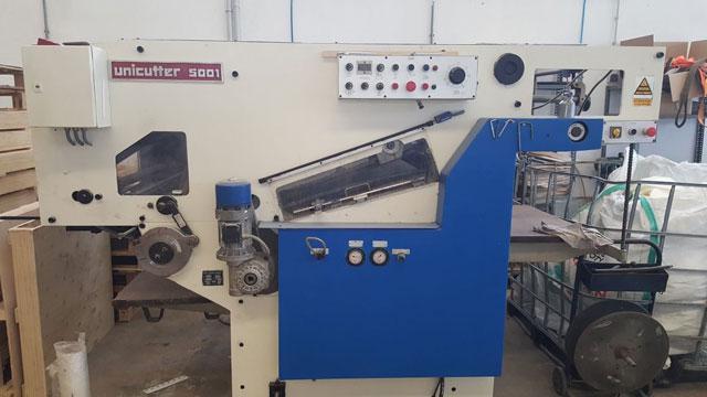 TMZ 5001 б/у - автоматическое оборудование для высечки