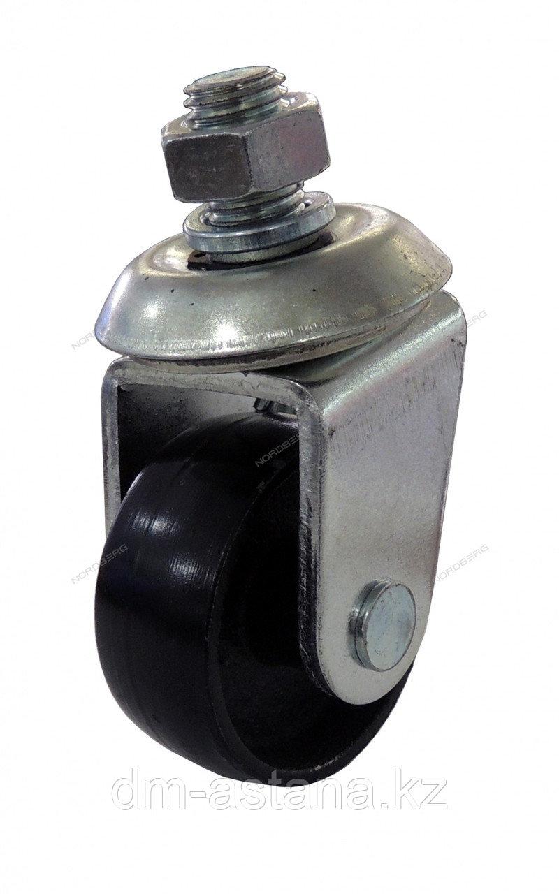 Колесо металлическое D=58мм для подкатного домкрата 3 и 3,5 тон.