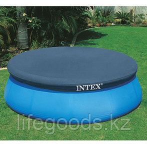 Чехол - тент для надувного бассейна диаметром 244 см, Intex 28020, фото 2