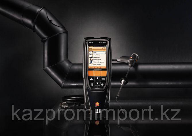 Высокоэффективный газовый анализ с testo 320