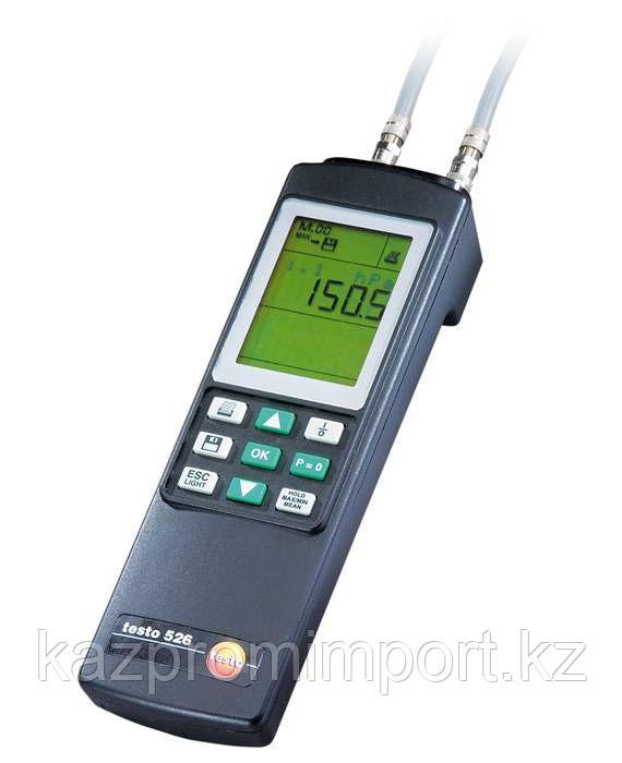 Testo 526-2 - Высокоточный дифференциальный манометр