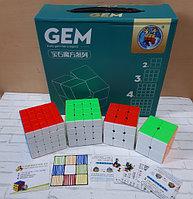 Набор скоростных кубиков ShengShou Gem Gift Box