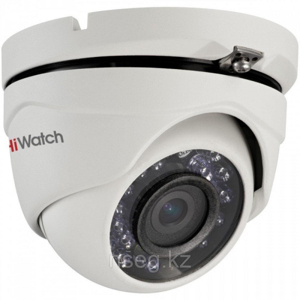 HiWatch DS-T103 1Мп уличная купольная HD-TVI камера с ИК-подсветкой до 15м