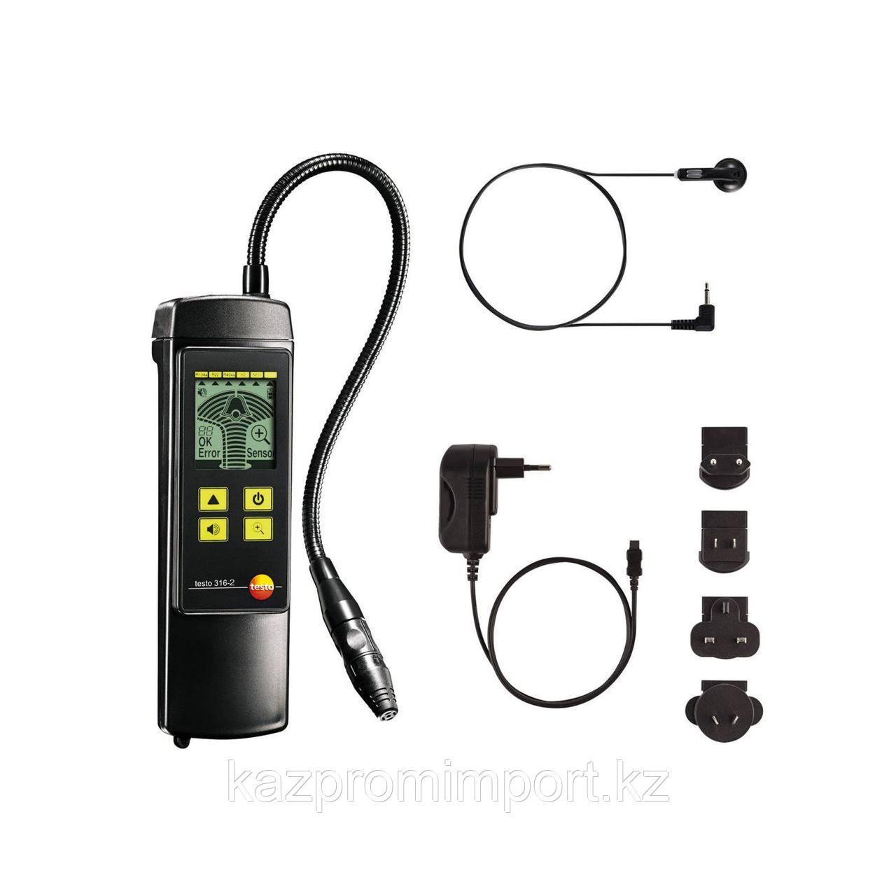 Testo 316-2 - Быстродействующий течеискатель со встроенным насосом