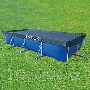 Тент - чехол для прямоугольного бассейна 450х220 см, Intex 28039, фото 2