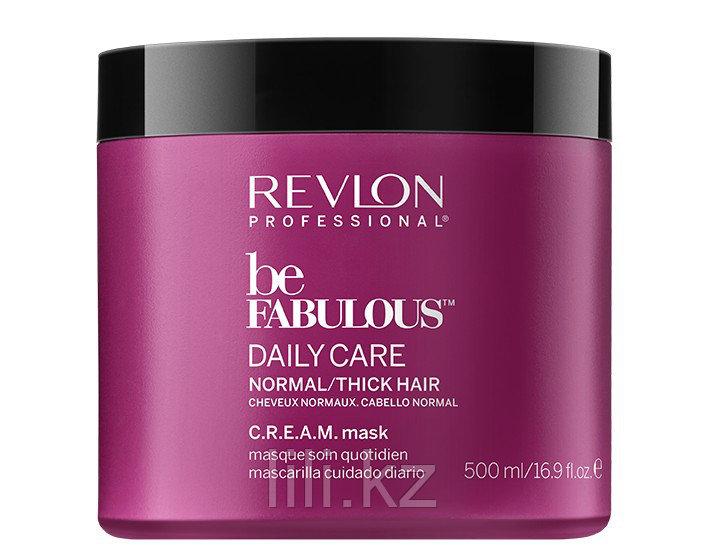Маска для нормальных и густых волос Revlon Be Fabulous Daily Care Normal Hair Thick Mask 500 мл.