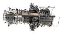 Газовая турбина Rolls Royce Allison 501-K, газовый двигатель Rolls Royce Allison 501-K