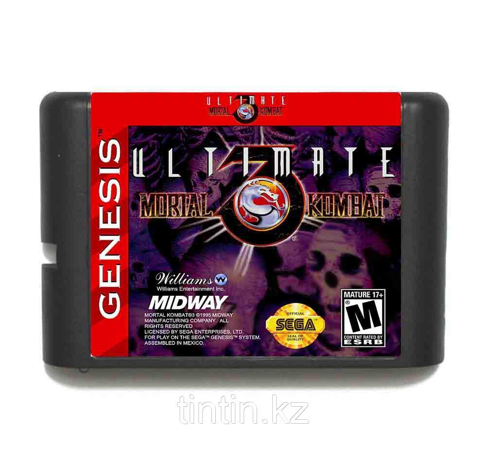 Ultimate Mortal Kombat 3 для Sega Mega Drive 2
