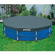 Тент - чехол для круглого каркасного бассейна диаметром 457 см, Intex 28032