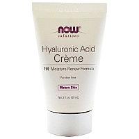 Now Foods, Крем с гиалуроновой кислотой, восстанавливающий влажность кожи (59 мл)