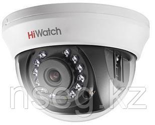 HiWatch DS-T201 2Мп внутренняя купольная HD-TVI камера с ИК-подсветкой до 20м