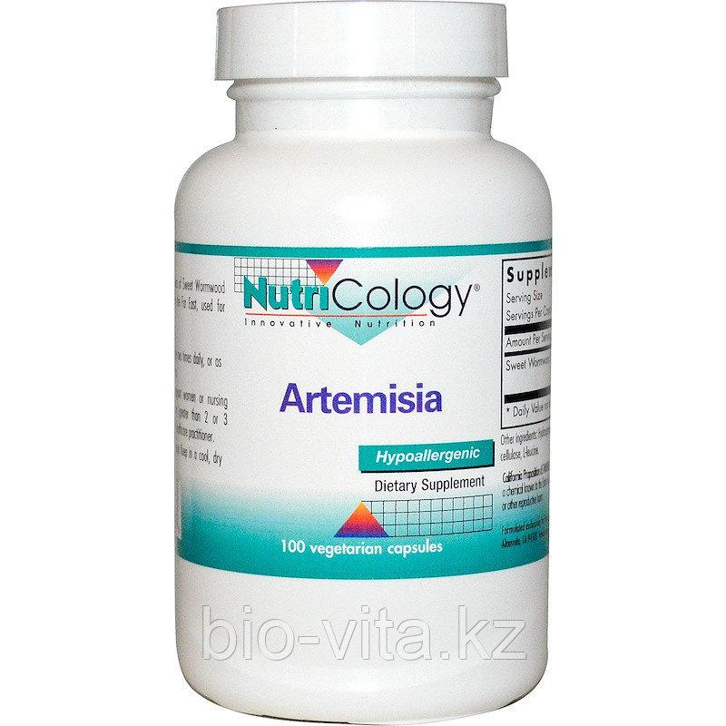 Nutricology, Полынь. Артемизия. Artemísia ánnua. Для дополнительного лечения онкологии 100 капсул.