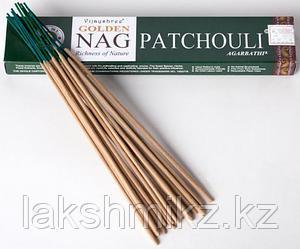 Благовония Пачули Golden Nag Patchouli, 15 грамм