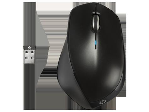 HP H2W26AA Беспроводная мышь X4500 (черный металлик)