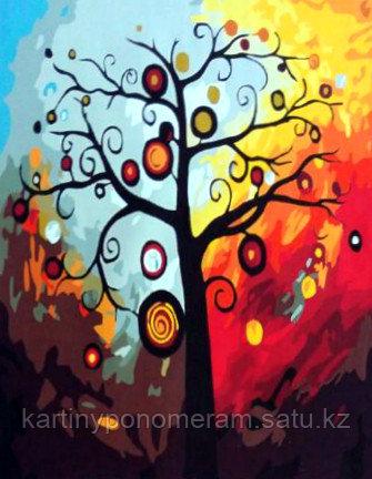 "Картина по номерам ""Дерево богатства 3"""