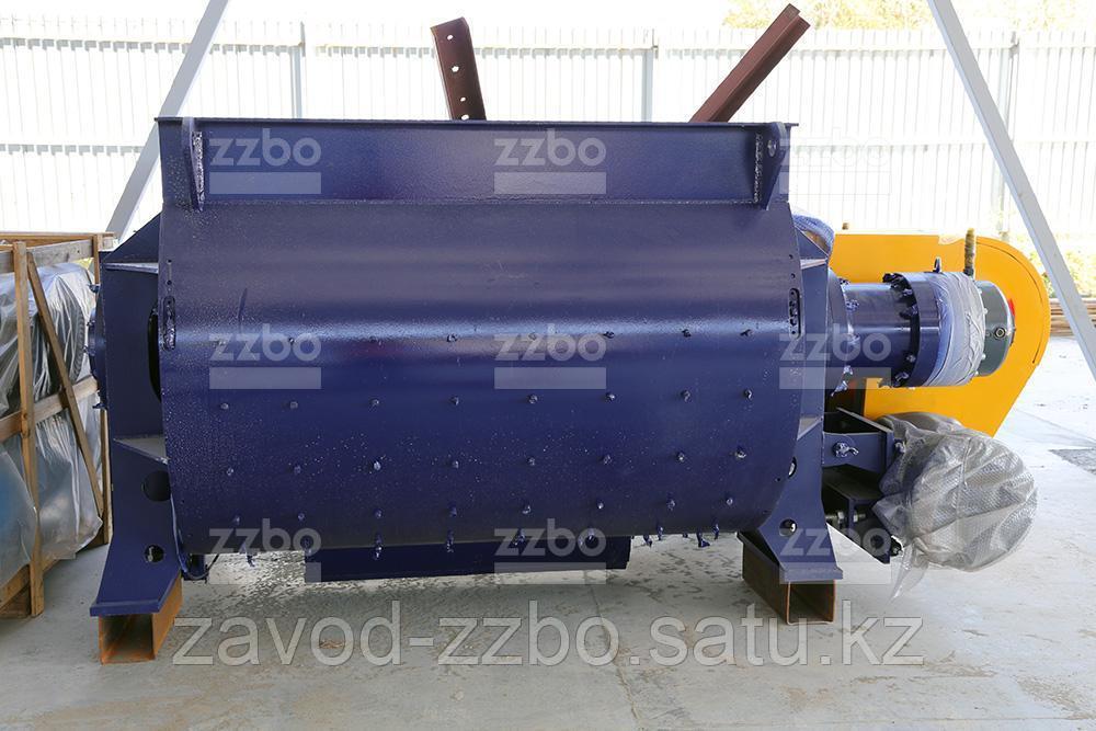 Двухвальный бетоносмеситель БП-2Г-3000