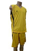 Баскетбольная форма - двусторонняя XL желтый/черный