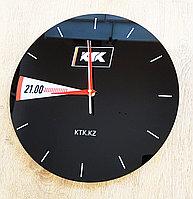 Настенные часы с принтом